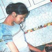Trained Girls working at home