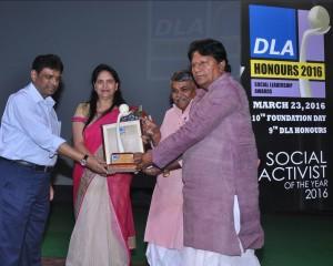 Dla Social Activist Award